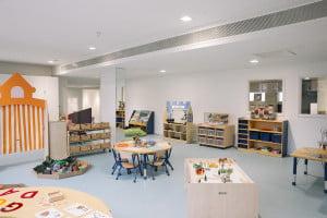 Nursery play room