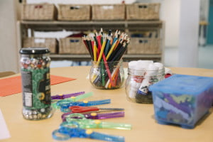 Expressive art and design section