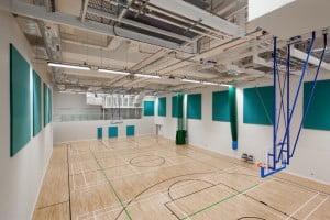 Sports Hall at Caius Hall