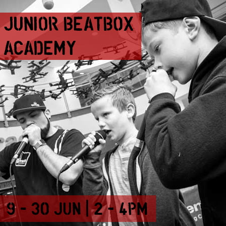 Junior Beatbox Workshop Social Media 1